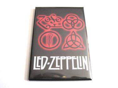 Led Zeppelin Runes Magnet