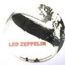 Led Zeppelin Blimp Round White Sticker