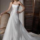 organza  fashion designer wedding dresses 2011 EC17