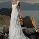 one shoulder beach wedding dress 2011 EC34