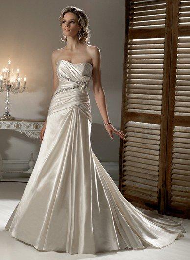 rhinestone bridal wedding dress 2011 EC42