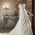 chiffon bridal wedding dress 2011 EC47