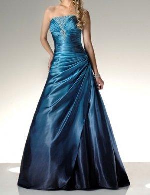 fashion blue Prom dresses 2011 EP18