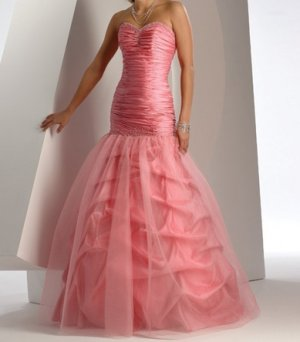 fashion pink Prom dresses 2011 EP19