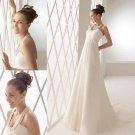 new collection hater chiffon wedding dress 2011 EC124