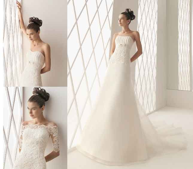 new collection  organza wedding dress 2011 EC131