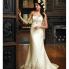 latest style embroidery beaded wedding dress 2011 EC152