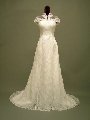 Free shipping lace jacket wedding dress 2011 ER4