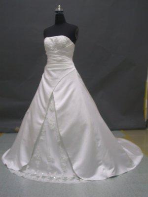 Free shipping fashion designer wedding dress ER49