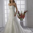 Free shipping fashion embroidery swarovski crystals wedding dress 2011 EC157