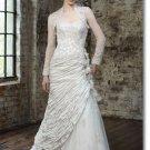 Free shipping fashion lace wedding dress 2011 EC158
