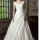 new styles taffeta two straps wedding gown 2011 EC167