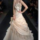 new styles taffeta ruffle wedding gown 2011 EC171