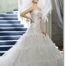 latest style tulle princess wedding gown 2011 EC173