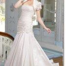 latest style simple taffeta wedding dress 2011 EC181