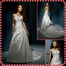 Free shipping strapless rhinestone wedding dresses 2011 EC203