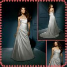 Free shipping strapless rhinestone wedding dresses 2011 EC204