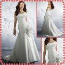 Free shipping strapless wedding dresses 2011 EC212