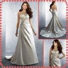 Free shipping halter swarovski wedding dresses 2011 EC215
