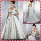 Free shipping two straps swarovski wedding dresses 2011 EC216