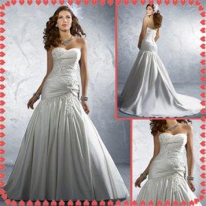 Free shipping swarovski rhinestone wedding dresses 2011 EC219