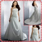 Free shipping spaghetti swarovski wedding dresses 2011 EC233