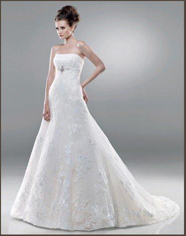 2011 the most popular lace wedding dress EC255