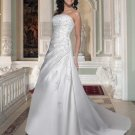 Free shipping new model lace wedding gown EC318