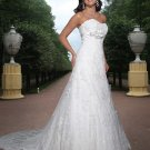 Free shipping new model lace wedding dress EC321