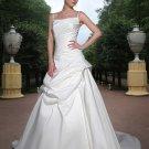 Free shipping the most popular spaghetti designer wedding dress EC331