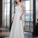 Free shipping the most popular one strap wedding dress EC334