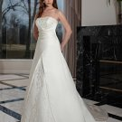 Free shipping the latest  lace wedding dresses EC343