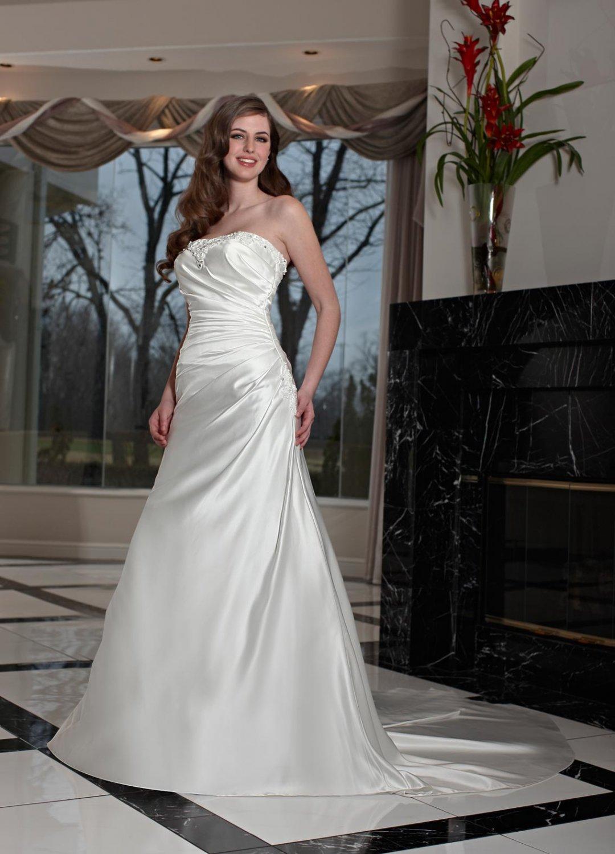 Free shipping the latest  rhinestone wedding dresses EC344