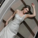 Free shipping the latest rhinstone wedding dresses EC348