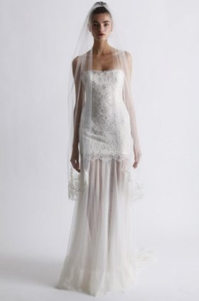 Free shipping fashion  vera wang wedding dress 2012 EC360