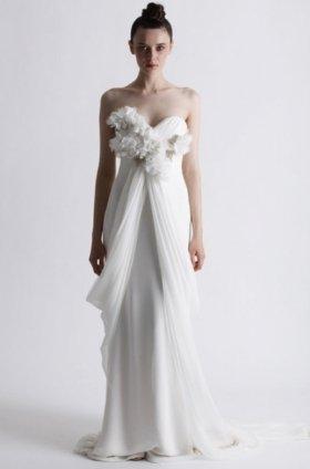 Free shipping fashion  vera wang wedding dress 2012 EC361