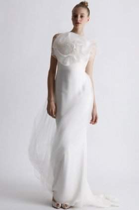 Free shipping latest style vera wang wedding dress 2012 EC363