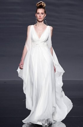 Free shipping latest style vera wang wedding dress 2012 EC368