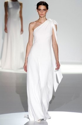 Free shipping latest style vera wang wedding dress 2012 EC369