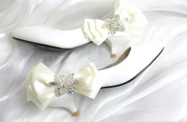 swarovski crystals and rhinestone shiny wedding shoes S005