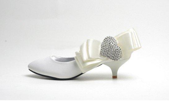 swarovski crystals and rhinestone shiny wedding shoes S012