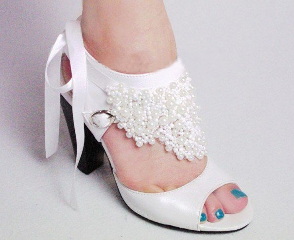 swarovski crystals and rhinestone shiny wedding shoes S013