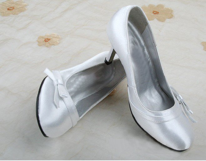 swarovski crystals and leather wedding shoes S021