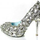 swarovski crystals and rhinestone bridal shoes S034