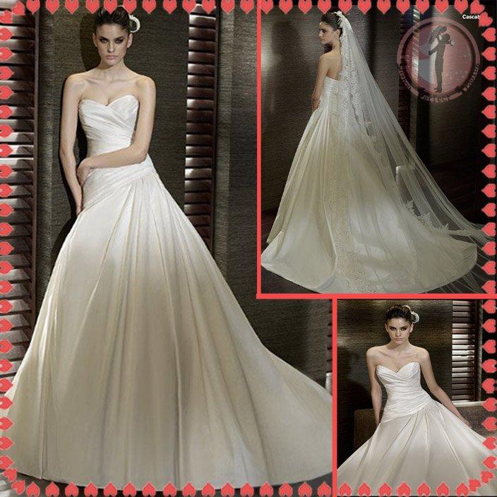 Free shipping the most popular wedding dress 2012 EC378