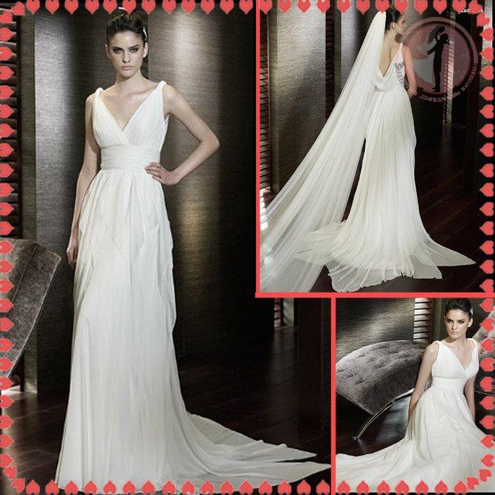 Free shipping the most popular wedding dress 2012 EC379