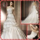 Free shipping the most popular lace wedding dress 2012 EC382