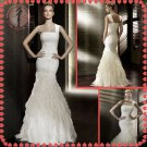 Free shipping the most popular one shoulder wedding dress 2012 EC383
