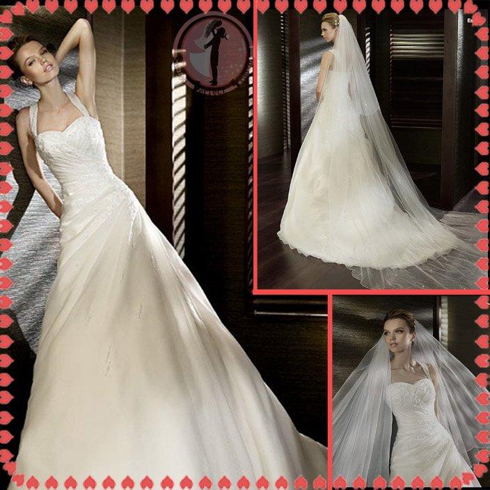 Free shipping off shoulder rhinestone 2012 bridal wedding dress EC394