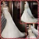 Free shipping 2012 rhinestone bridal mermaid wedding dress EC396